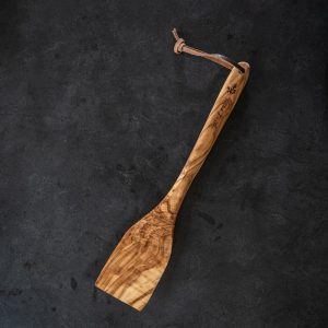 spatula olive wood