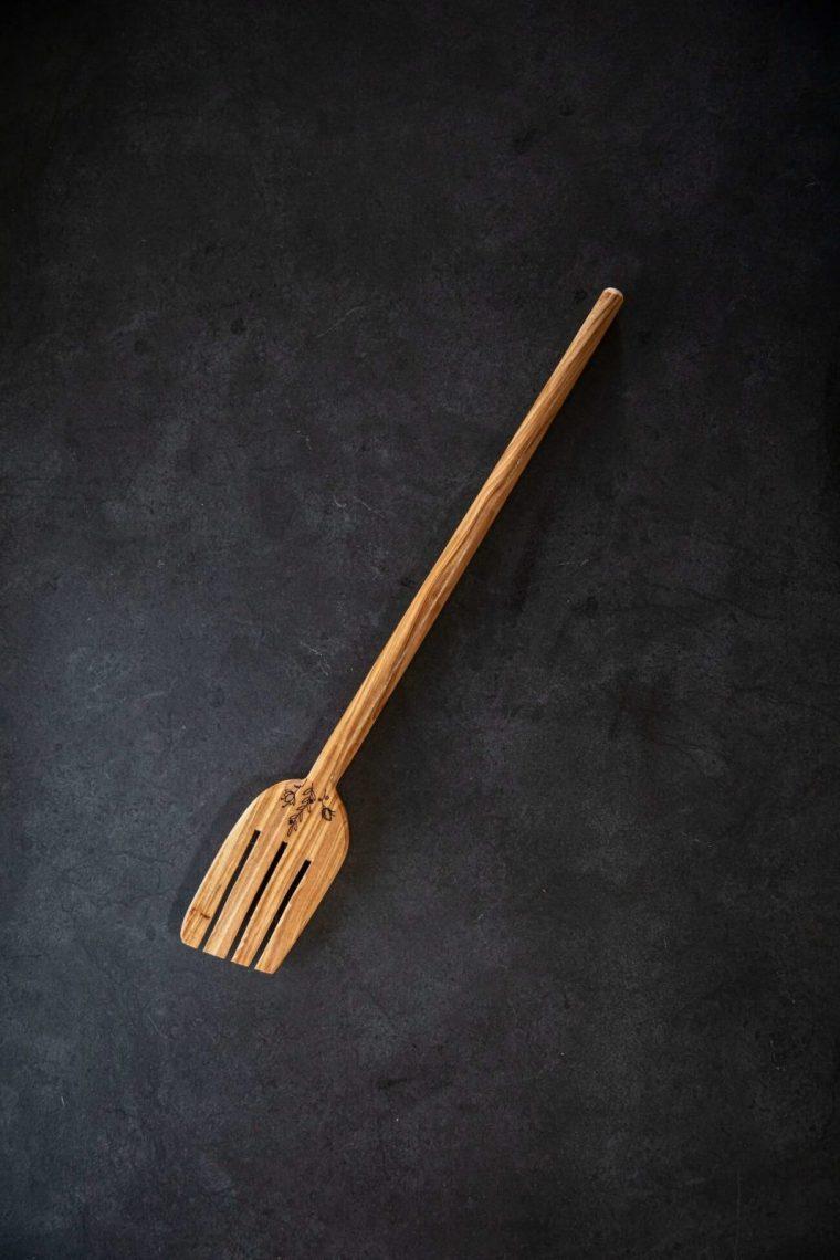 fork wooden cook